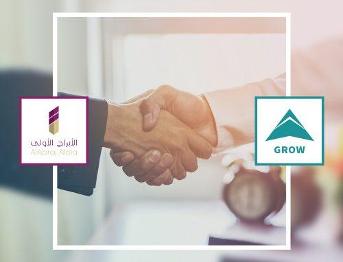 عقد إتفاق شراكة وتعاون بين شركة GROW وشركة الأبراج الأولى